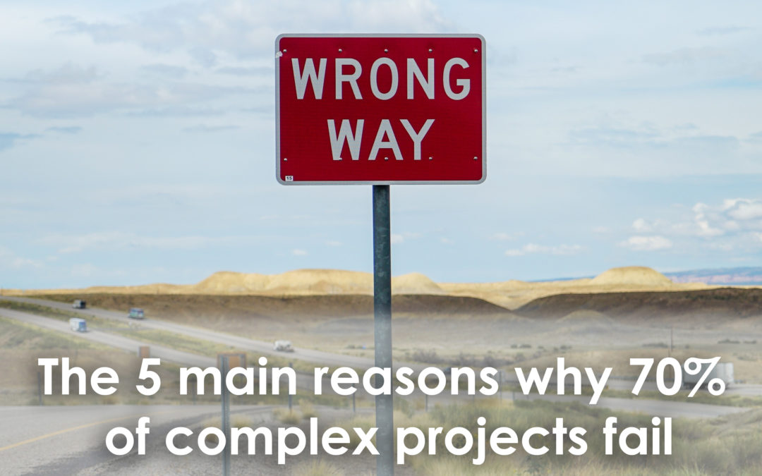 70% of complex projects fail to deliver