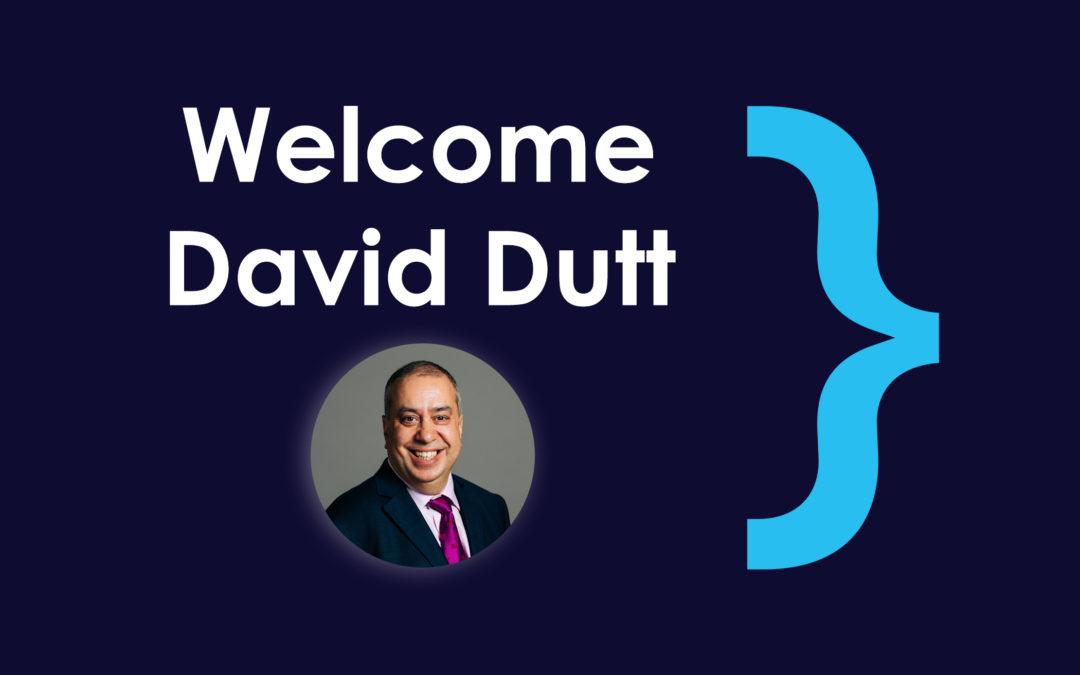 Welcome – David Dutt